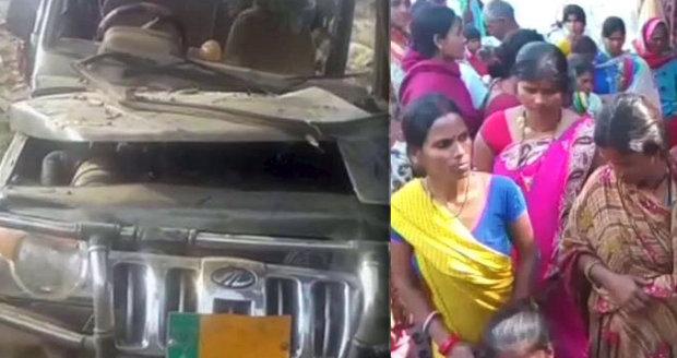 Auto vletělo do školáků: Devět dětí zemřelo, řidič uprchl z místa