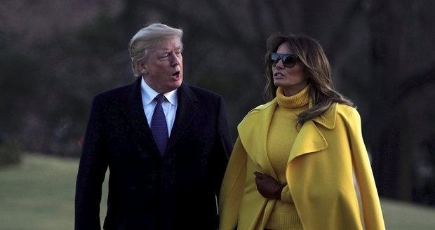 Melania kontra Donald. První dáma USA podpořila snahu omezit prodej zbraní