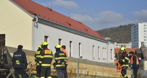 Pražští hasiči v Radotíně. (ilustrační foto)