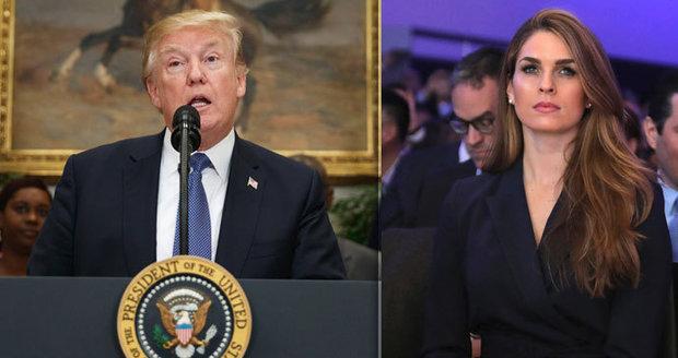 """""""Pro prezidenta občas zalžu,"""" přiznala Trumpova šéfka komunikace"""