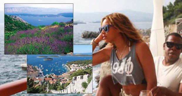 Na slunný ostrov Hvar nedá rozhodně dopustit zpěvačka Beyoncé.