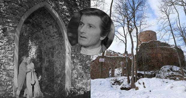 Zřícenina Valdek v Brdech: Zamiloval si ho básník Karel Hynek Mácha a točil se tu F. L. Věk.