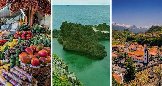 Lány stále rozkvétajících květin, místa plná chutí a možností, které dovolují se denně zasnít - i to je Madeira. Ráj, kde jaro trvá celý rok a nikdo nikam nespěchá.