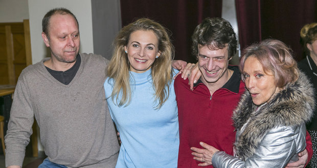 Jakub Zindulka, Michaela Badinková, Martin Kraus a Dana Homolová