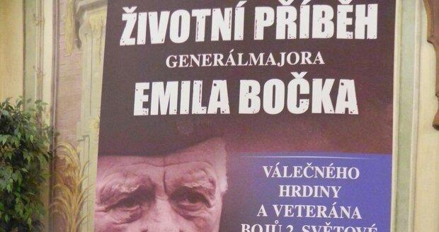 Křest životopisné knihy o válečném veteránovi Emilu Bočkovi