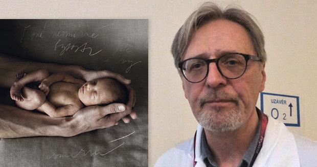 Profesor Plavka zachraňuje předčasně narozené děti: Bianca (470 gramů) přišla na svět uprostřed dovolené v Praze