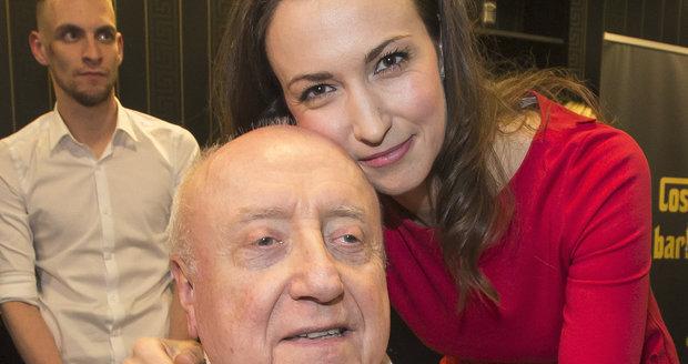Felix Slováček a Lucie Gelemová.