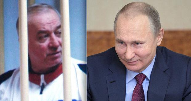 """""""Všichni zrádci natáhnou bačkory,"""" vzkázal Putin. Stojí za útokem na exšpiona on?"""