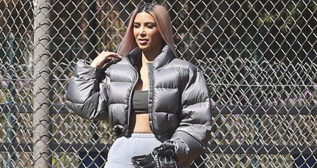 Kim Kardashian jako obří Michelin