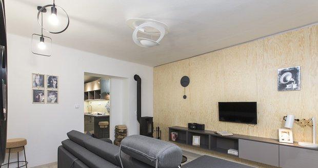 Nevyhovující byt se změnil v příjemný moderní domov