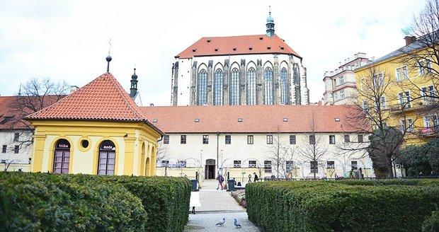 Pohled na kostel, ve kterém kázal Jan Želivský