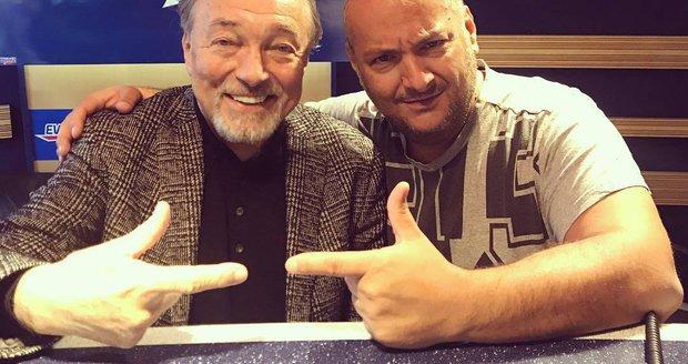 Patrik Hezucký s Karlem Gottem
