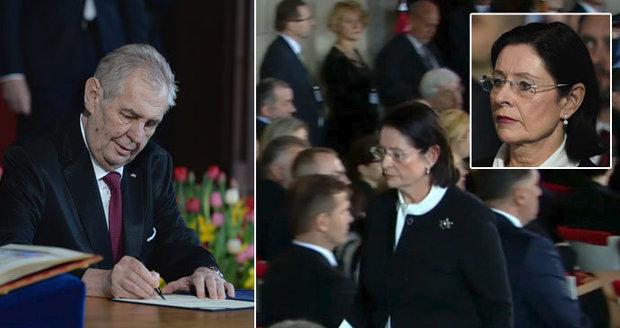 """""""Zeman složil křivou přísahu."""" Šokovaná Němcová se pustila i do šéfa Sněmovny"""