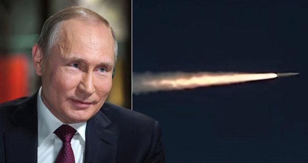 Nová Putinova raketa zasáhne cíl i v Praze. Test nadzvukové střely byl úspěšný