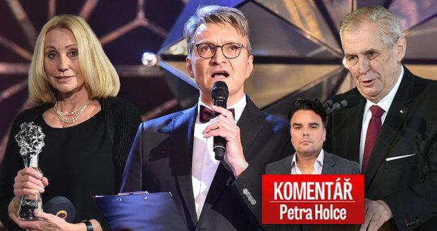 Komentář: Filmaři vyrazili proti Zemanovi. Řadě z nich přitom ČT platí tvorbu