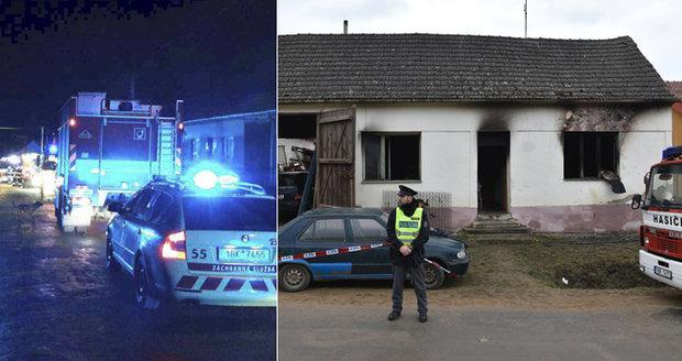 Při požáru na Znojemsku zemřely tři děti.