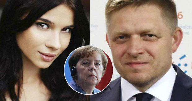 Jak se Ficova Mária dostala na setkání s Merkelovou? Museli ji povýšit
