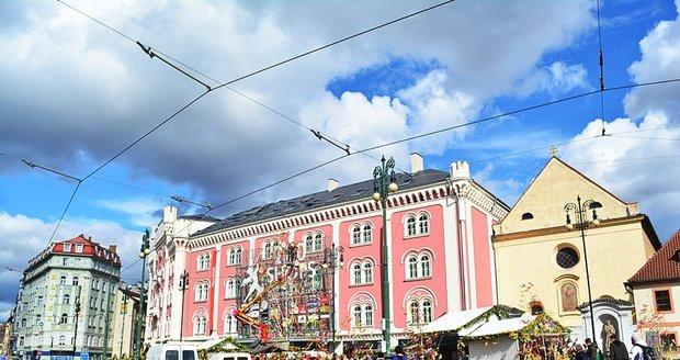 Velikonoční trhy na náměstí Republiky