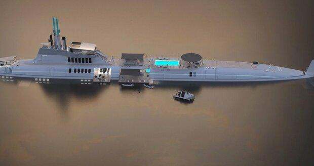 Rakouská firma Migaloo nabízí i ponorku s výbavou luxusní jachty.