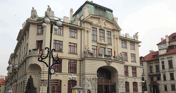 Budova pražského magistrátu.