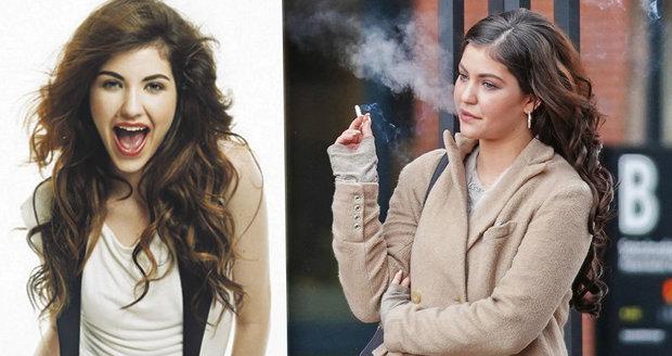 kouření stroj