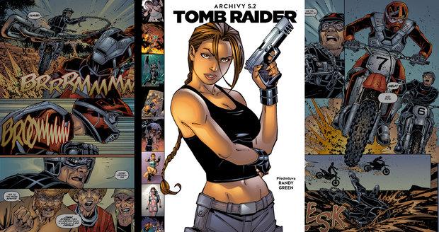 Tomb Raider Archivy S.2: komiksová hrdinka Lara Croft funguje lépe na papíře