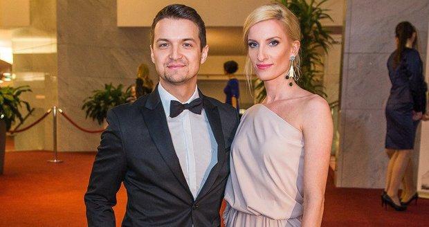 Adela Vinczeová a její manžel Viktor Vincze