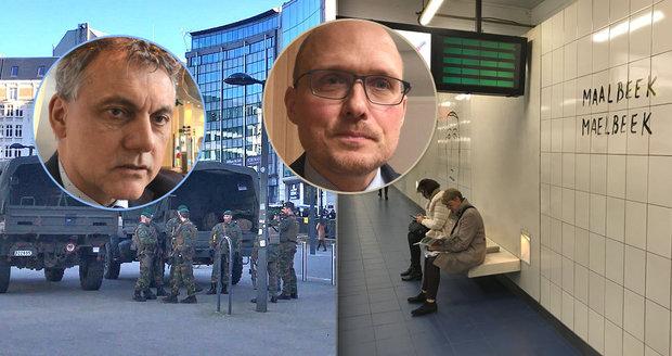 """""""Pořád sledujeme podezřelé tašky."""" Češi popsali život v Bruselu po teroru"""