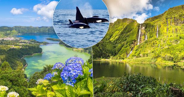 Azory jsou na pohled opravdovým přírodním rájem.