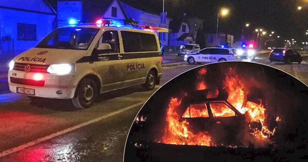 Mladý policista (†25) nezvládl řízení: Spolujezdec Marek uhořel