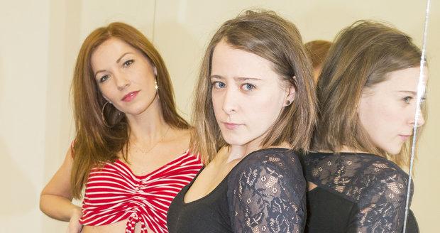 Anna Stropnická se učí předvádět striptýzové tance