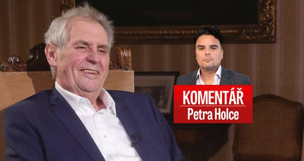 Komentář: Skončí Zeman jako velezrádce? Jed na špiona otrávil českou politiku