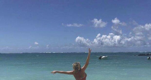 Regina Řandová je na dovolené na Mauriciu.