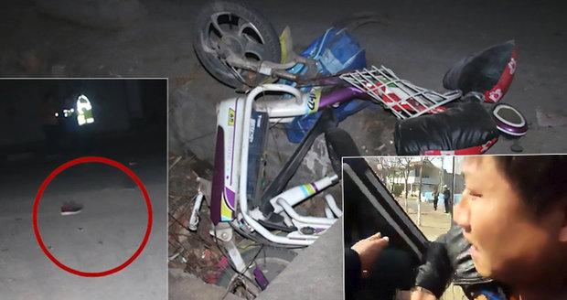 Opilý řidič přejel ženu a dítě: Byli to jeho manželka a syn. Chlapec zemřel