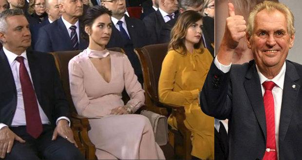 Manželka Zemanova kancléře Alex Mynářová (34) čeká další miminko!