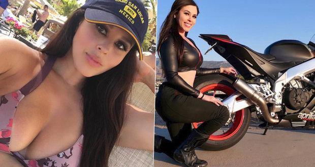 Sexy motorkářka (†33) zahynula při nehodě: Smrt ji zastihla poté, co jí zemřeli oba rodiče