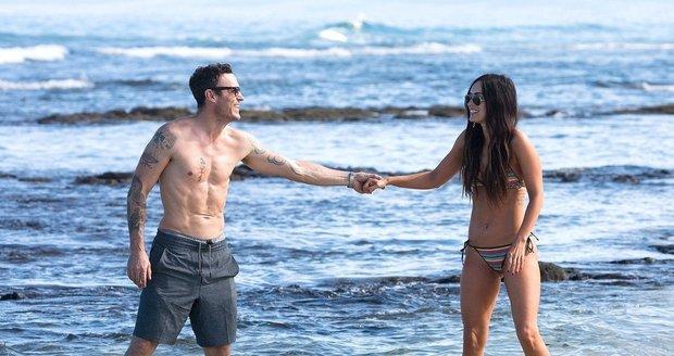 Manželé Megan Fox a Brian Austin Green na Havaji