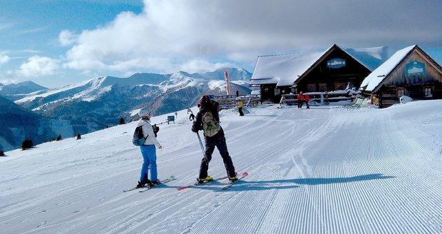 Rakouský Innerkrems nabízí perfektní lyžování.