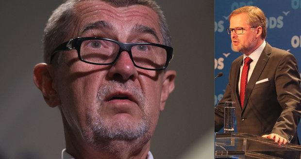 Babiš nás vodí za nos, zaútočil Fiala z ODS po krachu jednání ANO a ČSSD