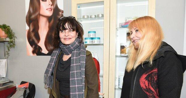 Jana Krausová s Veronikou Gajerovou.