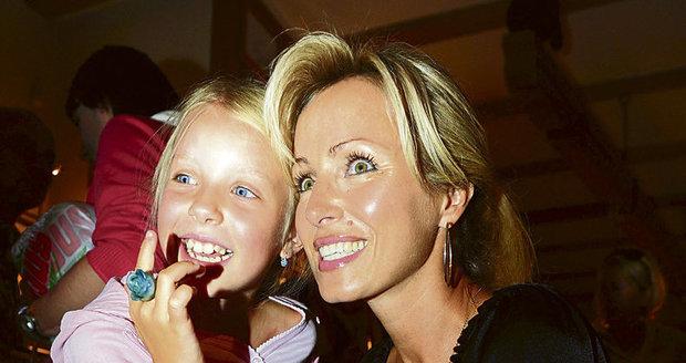 Brožová s dcerou