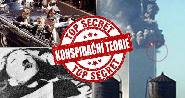 Nejznámější konspirace naší doby: Přežil Hitler válku a odpálila Dvojčata vláda USA? Devět největších záhad!