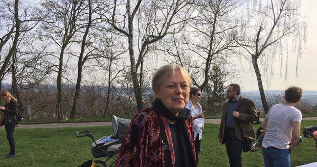 Milena Černá se s Olgou Havlovou znala přes 30 let.