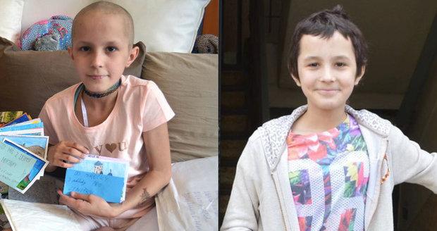 Lenička (11), které čtenáři Blesku posílali pohledy, porazila rakovinu: Už zase běhá!