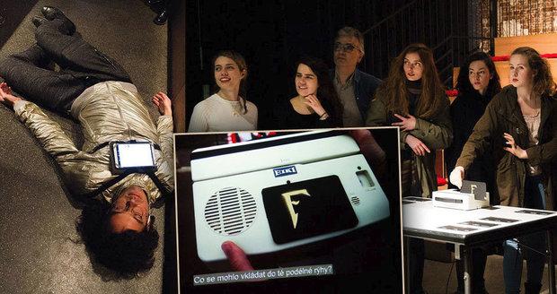 Diváci v Paříži zabíjeli Fantomasův vynález a učili se českou historii s Olgou Havlovou