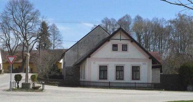 Chalupa Martina Hudečkové u Jindřichova Hradce, kde bylo Herzovi nejlépe.