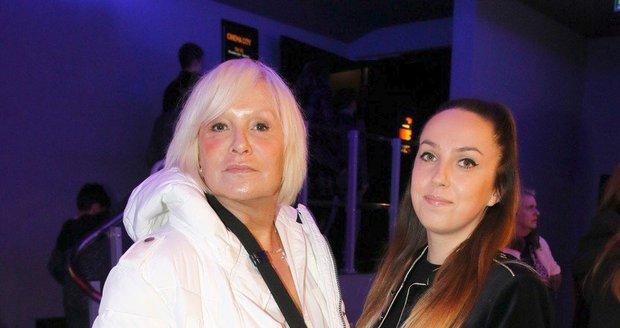 Hana Čížková s dcerou