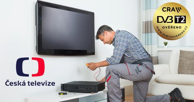 ČT dá divákům víc času na změnu přístrojů. Zpomalí přechod na nové vysílání