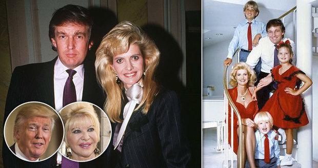 Ivana Trump: Štaidla jsem milovala, chtěli mě znásilnit a Sinatra byl parchant!