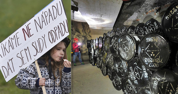 """Protesty proti úložištím jaderného odpadu: Žádná velká """"masovka"""" to nebyla"""